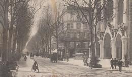 Nice - Avenue De La Gare - Eglise Notre-Dame - 1912 - Animée - Monumenten, Gebouwen