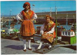 Minho - Trages Tipicos / Typical Dresses - Fishing-boats - ( Portugal) - Braga