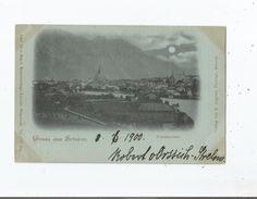 GRUSS AUS SCHWAZ (IN TIROL)  8737  TOTALANSICHT  1900 - Schwaz