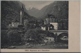 Bignasco Ed Il Basodino - Photo: Wehrli - TI Tessin