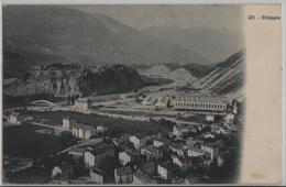 Chippis Et Les Usines - Photo: J. Ruggeri - VS Valais