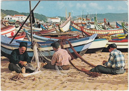 Nazaré - Concertando As Redes / Repairing Net / Réparant Filets  - ( Portugal) - Leiria