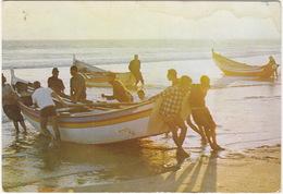 Costa Da Caparica - Pescadores / Fishers / Pecheurs  - (Portugal) - Setúbal