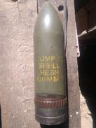 Obus De 106mm Sans Recul Us Inerte - Militaria