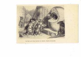 Cpa Fantaisie ILLUSTRATION Grandville - Le Rat Qui S'est Retiré Du Monde - Souris Tonneau - FRANCISC Miss VANVES Seine - Fiabe, Racconti Popolari & Leggende