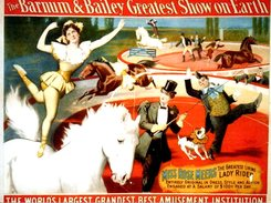 PHOTO. The Barnum & Bailey Greatest Show On Earth. - Reproductions