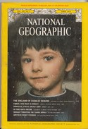 National Geographic Vol. 145, No. 4 April 1974, ENGLAND OF CHARLES DICKENS - Travel/ Exploration