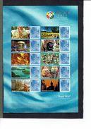 """GRANDE-BRETAGNE - Hello -Exposition Philatélique Internationale """"Thaïlande 2013 """" - Feuille 2685d - - Feuilles, Planches  Et Multiples"""