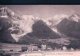 France 74, Les Bossons, Chemin De Fer, Train En Gare (5172) - Autres Communes