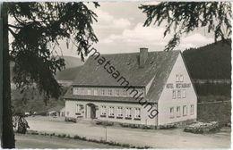 Okertalsperre - Hotel Gemkental - Besitzer E. Moock - Foto-Ansichtskarte - Allemagne