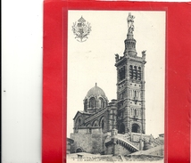 XXI. MARSEILLE . BASILIQUE DE N-D DE LA GARDE . NON ECRITE - Notre-Dame De La Garde, Aufzug Und Marienfigur