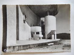 CPSM (70) - RONCHAMP - CHAPELLE DE NOTRE DAME DU HAUT - ARCHITECTE LE CORBUSIER - PHOTO VERITABLE - R6853 - France