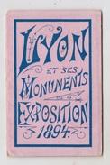 69 - LYON / CARNET DE 18 VUES De L'EXPOSITION De 1894 - Autres