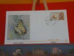 Papillon, Eastern Festoon > Turquie, Ankara > Europa CEPT 1985 - 23.4.1985 - FDC 1er Jour - 1921-... República
