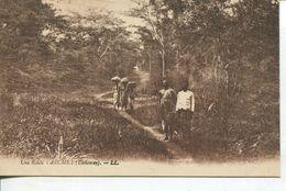 Dahomey - Une Route à Abomey (001423) - Benin