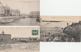 17 / 10  / 356  -    LE  CROISIC  ( 44 )  4  &  1  CPSM  CPA  DIVERSES - Cartes Postales