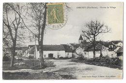 Cpa. 52 ANROSEY (ar. Langres) Entrée Du Village 1920  (rare) - Autres Communes