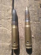 Cartouches MG131 Perfo Et Explo All Inerte - Militaria