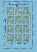 Drammen Bypost  -  Reprint.  Norway.  # 354 # - Probe- Und Nachdrucke