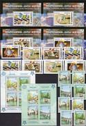 EUROPA 2006 GEORGIA 507/0,510/4,Bl.35-38,SERBIJA 339/2,Block 13A+B ** 184€ Hoja Blocs S/s Philatelic Sheets Bf CEPT - Collections (sans Albums)
