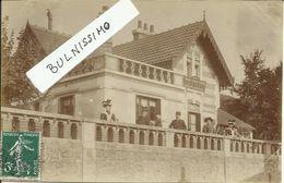 Carte Photo, Famille Simon 1 Rue De La Butte, Blois - Blois