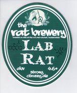THE RAT BREWERY (HUDDERSFIELD, ENGLAND) - LAB RAT - PUMP CLIP FRONT - Letreros