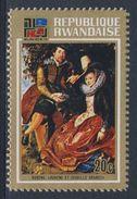 Ruanda Rwanda 1973 Mi 566 A YT 527 ** Rubens And Isabella Brant (1609) - Peter Paul Rubens (1577-1640) / Gemälde - 1970-79: Ongebruikt