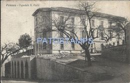 80127 ITALY POTENZA HOTEL OSPEDALE S. CARLO POSTAL POSTCARD - Italia