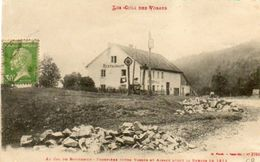 CPA - COL Du BONHOMME (68) - Aspect De La Ferme-Auberge De La Frontière Entre Vosges Et Alsace Au Début Du Siècle - Autres Communes