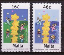Malta Set Of Stamps To Celebrate Europa  2000. - Malta