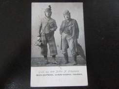 Postkarte Zirkus Schumann Frankfurt - Ward Brothers - Akrobaten Um 1920 - Entertainers