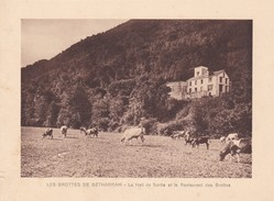 GROTTES DE BETHARRAM. LE HALL DE SORTIE ET RESTAURANT DES GROTTES CIRCA 1920S 19X15CM APROX - STAMP - BLEUP - Postzegels (afbeeldingen)