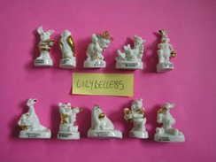 Serie Complète De 10 Fèves En Porcelaine - WINNIE PRESTIGE 2006 - ( Feve ) - Disney