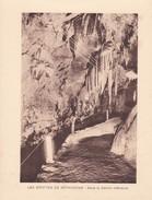 GROTTES DE BETHARRAM. DANS LA GALERIE INFERIEURE CIRCA 1920S 19X15CM APROX - STAMP - BLEUP - Postzegels (afbeeldingen)