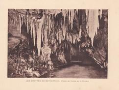 GROTTES DE BETHARRAM. DETAIL DE VOUTE DE LA RIVIERE CIRCA 1920S 19X15CM APROX - STAMP - BLEUP - Postzegels (afbeeldingen)