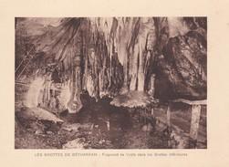 GROTTES DE BETHARRAM. FRAGMENT DE VOUTE DANS LES GROTTES INFERIEURES CIRCA 1920S 19X15CM APROX - STAMP - BLEUP - Postzegels (afbeeldingen)