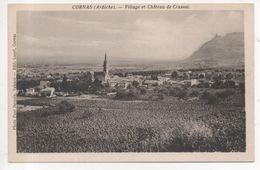 07.327/ CORNAS - Village Et Chateau De Crussol - Autres Communes