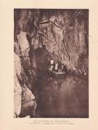 GROTTES DE BETHARRAM. PASSAGE DE LA PORTE DU DANTE CIRCA 1920S 19X15CM APROX - STAMP - BLEUP - Postzegels (afbeeldingen)