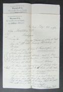 Six Documents Commerciaux à Entête De La Maison Walden & Co. 49 Broad Street à New York - Année 1892 - Etats-Unis