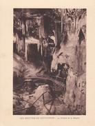 GROTTES DE BETHARRAM. LA CHALRE ET LE BASSIN CIRCA 1920S 19X15CM APROX - STAMP - BLEUP - Postzegels (afbeeldingen)