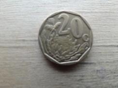 Afrique Du Sud  20  Cents  2012  Km  !!! - Afrique Du Sud
