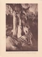 GROTTES DE BETHARRAM. LE PASSAGE DES COLONNES CIRCA 1920S 19X15CM APROX - STAMP - BLEUP - Postzegels (afbeeldingen)