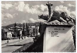 """MILITARI - ASSOCIAZIONE BRESCIANA """"LUPI DI TOSCANA - BRESCIA - MON. AI LUPI DI TOSCANA - Vedi Retro - War Memorials"""
