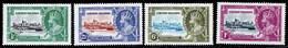 Cayman Islands 1935 Silver Jubilee MH Set SG 108/111 Cat £19 - Cayman Islands