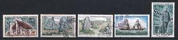 France 1965 : Timbres Yvert & Tellier N° 1435 - 1436 - 1440 - 1446 - 1447 - 1448 - 1449 - 1454 - 1455 - 1460 Et 1461 Ave - France