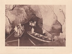 GROTTES DE BETHARRAM. LE DEBARCADERE DE LA RIVIERE CIRCA 1920S 19X15CM APROX - STAMP - BLEUP - Postzegels (afbeeldingen)