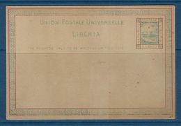 Entier Postal Du Lybéria - Liberia