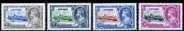 Ceylon 1935 Silver Jubilee MNH Set SG 379/382 Cat £10 - Ceylon (...-1947)