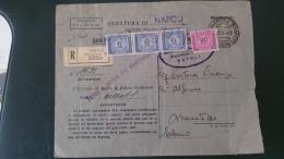 REPUBBLICA.ITALIA.REPUBBLICA ITALIANA.SEGNATASSE.RACCOMANDATA.TASSA AL CARICO DEL DESTINATARIO..STORIA POSTALE.82 - 6. 1946-.. Republic