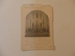 Photo 13cm/18cm De L'autel De Notre-Dame De Verneuil-sur-Avre Lors De La Communion Solenelle De Yves Leborgne. - Fotos